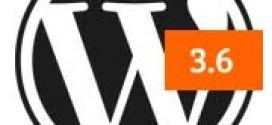 Что нас ожидает в WordPress 3.6