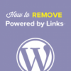 Как убрать ссылку «Сайт работает на WordPress» из футера темы