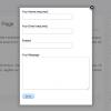 Как создать всплывающую форму контактов в WordPress