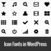 Используем Dashicons в темах и плагинах WordPress