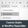 Как добавить собственные стили в визуальный редактор WordPress