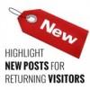 Как выделить новые записи для вернувшихся посетителей в WordPress