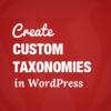Как создать произвольные таксономии в WordPress