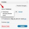 Как зарегистрировать новый статус записи в WordPress
