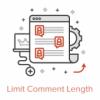 Как ограничить длину комментариев в WordPress