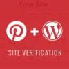 Как верифицировать свой WordPress сайт на Pinterest
